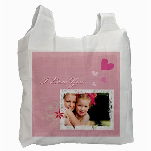 Love By Joely   Recycle Bag (one Side)   Tp05q01isdw8   Www Artscow Com Front