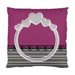 Love ring cushion case - Cushion Case (Two Sides)