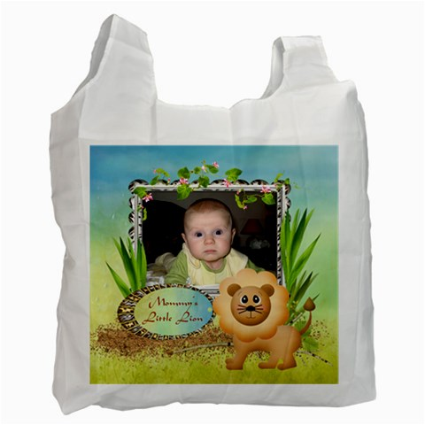 Safari   Recycle Bag By Snackpackgu   Recycle Bag (one Side)   Valg4eth1p3j   Www Artscow Com Front