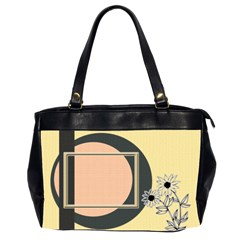 Sunflower Office Bag By Daniela   Oversize Office Handbag (2 Sides)   94al6cdo3ihi   Www Artscow Com Front
