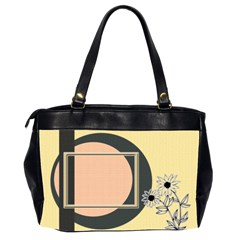 Sunflower Office Bag By Daniela   Oversize Office Handbag (2 Sides)   94al6cdo3ihi   Www Artscow Com Back