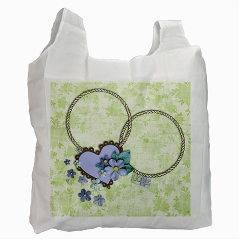 Baby Mine/love Recycle Bag By Mikki   Recycle Bag (one Side)   Nlquxui5kkrp   Www Artscow Com Front