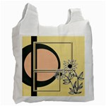 Sunflower recycle bag - Recycle Bag (One Side)