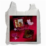 Memories Hot Pink recycle bag 2 sides - Recycle Bag (Two Side)