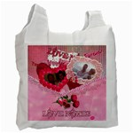 True Love Rose recycle bag 2 sides - Recycle Bag (Two Side)
