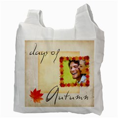 Fall Colours Double Sided Recycle Bag By Catvinnat   Recycle Bag (two Side)   X0g3vgdyx9nu   Www Artscow Com Back