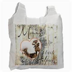 Mommy s Little Helpers Recycle Bag Double Sided By Catvinnat   Recycle Bag (two Side)   24n8uy3se4uc   Www Artscow Com Front