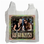 Friends Framed Recycle Bag - Recycle Bag (One Side)