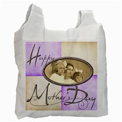 Happy Mothers Day Harlequin Recycle Bag 2 Sides By Catvinnat   Recycle Bag (two Side)   Cncr7yonrcfr   Www Artscow Com Front