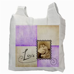 Happy Mothers Day Harlequin Recycle Bag 2 Sides By Catvinnat   Recycle Bag (two Side)   Cncr7yonrcfr   Www Artscow Com Back