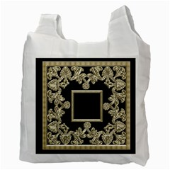 Liquid Gold Recycle Bag By Catvinnat   Recycle Bag (two Side)   9m6smmkcppjw   Www Artscow Com Back
