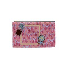 Abc Skip Small Cosmetic Bag 1 By Lisa Minor   Cosmetic Bag (small)   Q6dkxi5vvnle   Www Artscow Com Front