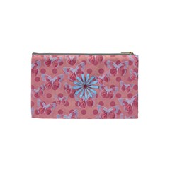 Abc Skip Small Cosmetic Bag 1 By Lisa Minor   Cosmetic Bag (small)   Q6dkxi5vvnle   Www Artscow Com Back