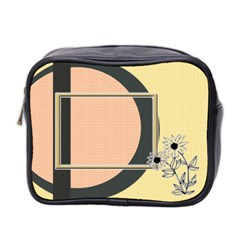 Sunflower Toiletries Bag By Daniela   Mini Toiletries Bag (two Sides)   Roqbpp0eph4l   Www Artscow Com Front