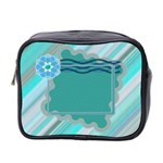Blue toiletries bag - Mini Toiletries Bag (Two Sides)