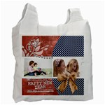 Happy New year - Recycle Bag (One Side)
