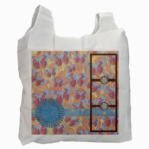 Abc Skip Recylce Bag 1 By Lisa Minor   Recycle Bag (one Side)   3y3ofnr69fkq   Www Artscow Com Front