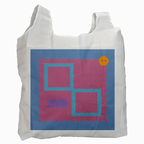 Recycle Recycle Bag By Daniela   Recycle Bag (one Side)   Zjvstu5rd52r   Www Artscow Com Front
