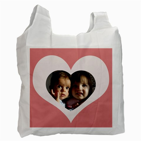 My Heart Recycle Bag By Daniela   Recycle Bag (one Side)   Hndfmy5jnv35   Www Artscow Com Front