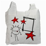 garabatos bag 02 - Recycle Bag (One Side)