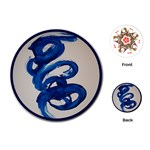 twirl - Playing Cards (Round)