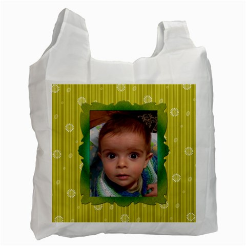 My Baby Recycle Bag By Daniela   Recycle Bag (one Side)   Gtymaslgvycx   Www Artscow Com Front