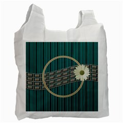 Green Recycle Bag By Daniela   Recycle Bag (two Side)   Oydm4u6fjidm   Www Artscow Com Front