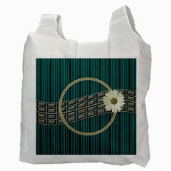 Green Recycle Bag By Daniela   Recycle Bag (two Side)   Oydm4u6fjidm   Www Artscow Com Back