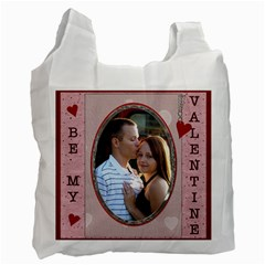 Be My Valentine 2 Sided Recycle Bag By Lil    Recycle Bag (two Side)   Qomc172543l1   Www Artscow Com Front