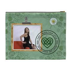 Luck O  The Irish Xl Cosmetic Bag By Lil    Cosmetic Bag (xl)   5uxf7396qv6n   Www Artscow Com Back