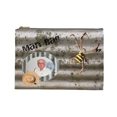 Man Bag 3 By Deborah   Cosmetic Bag (large)   52ekfffs7kmh   Www Artscow Com Front