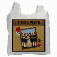 Forever Friends 2 Sided Recycle Bag By Lil    Recycle Bag (two Side)   Mu0qbgvu7opz   Www Artscow Com Front