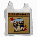 Forever Friends 2-Sided Recycle Bag - Recycle Bag (Two Side)
