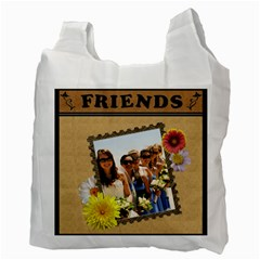 Forever Friends 2 Sided Recycle Bag By Lil    Recycle Bag (two Side)   Mu0qbgvu7opz   Www Artscow Com Back
