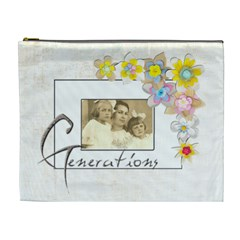 Generations Extra Large Cosmetic Bag By Catvinnat   Cosmetic Bag (xl)   5j7jlp6uc9v6   Www Artscow Com Front