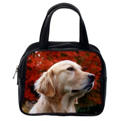 Dog Photo Cute Classic Handbag (one Side)