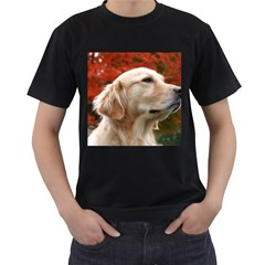 Dog Photo Cute Black T Shirt