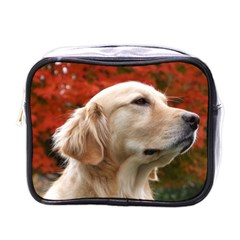 Dog Photo Cute Mini Toiletries Bag (one Side) by adriantesting
