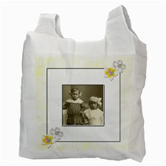 Flower Friends Recycle Bag Double Sided By Catvinnat   Recycle Bag (two Side)   8aui9kmj2w6q   Www Artscow Com Back