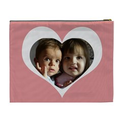 My Heart Xl Cosmetic Bag By Daniela   Cosmetic Bag (xl)   J0o14422kuvt   Www Artscow Com Back