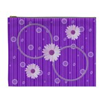 Purple XL cosmetic bag - Cosmetic Bag (XL)