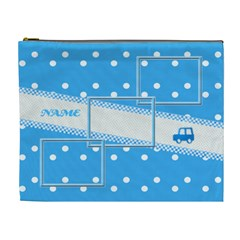 Baby Boy Xl Cosmetic Bag By Daniela   Cosmetic Bag (xl)   Q4pw3s1g1hti   Www Artscow Com Front