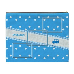 Baby Boy Xl Cosmetic Bag By Daniela   Cosmetic Bag (xl)   Q4pw3s1g1hti   Www Artscow Com Back