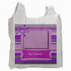 My Family Recycle Bag By Daniela   Recycle Bag (two Side)   Mpt7naz70sgp   Www Artscow Com Front