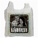 My Love Recycle bag - Recycle Bag (One Side)