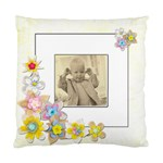 Cheeky ChappieSpring Flowers Single sided cushion cover - Cushion Case (One Side)