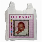 Oh Baby Girl Recycle Bag - Recycle Bag (One Side)