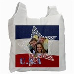 USA theme - Recycle Bag (One Side)
