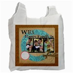 HAppy family  - Recycle Bag (One Side)