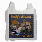 daddys little man bag - Recycle Bag (One Side)